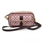 Louis Vuitton Juliette Cerise Monogram Mini Lin Canvas Shoulder Bag