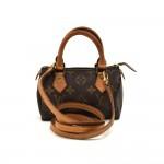 Vintage Louis Vuitton Mini Speedy Sac HL Monogram Canvas Handbag