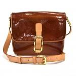 Louis Vuitton Christie GM Bronze Vernis Leather Crossbody Bag