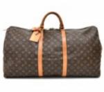 Louis Vuitton Keepall 60 Monogram Canvas Duffle Travel Bag