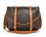 Louis Vuitton Saumur 43 XL Monogram Canvas Messenger Bag