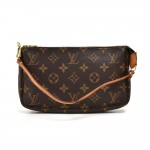 Louis Vuitton Pochette Accessoires Monogram Canvas Handbag