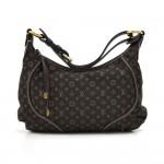 Louis Vuitton Manon PM Ebene Monogram Mini Idylle Canvas Shoulder Bag