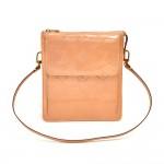 Vintage Louis Vuitton Mott Light Orange Vernis Leather Small Shoulder Bag