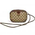 Vintage Gucci GG Supreme Coated Canvas Mini Crossbody Bag-Accessory Collection