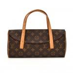 Louis Vuitton Sonatine Monogram Canvas Handbag