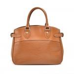 Louis Vuitton Passy PM Cannelle Brown Epi Leather Handbag