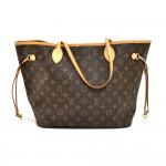 Louis Vuitton Neverfull MM Monogram Canvas Shoulder Tote Bag