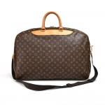 Vintage Louis Vuitton Alize 2 Poches Monogram Canvas Soft Sided Travel Bag