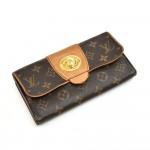 Louis Vuitton Boetie Monogram Canvas Long Bifold Wallet