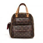 Louis Vuitton Excentri Cite Monogram Canvas Handbag