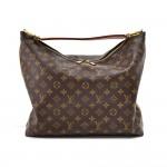 Louis Vuitton Sully MM Monogram Canvas Hobo Bag