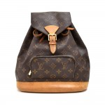 Vintage Louis Vuitton Moyen Montsouris MM Monogram Canvas Backpack Bag