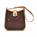 Louis Vuitton Perforated Musette Fuchsia Monogram Canvas Leather Shoulder Bag - 2006 Limited