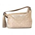 Louis Vuitton Halo Peach Monogram Shimmer Shoulder Bag