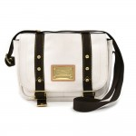 Louis Vuitton Besace PM White Antigua Canvas Messenger Bag