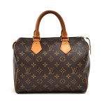 Louis Vuitton Speedy 25 Monogram Canvas City Handbag