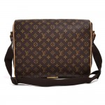 Louis Vuitton Abbesses Monogram Canvas Large Messenger Bag