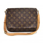 Vintage Louis Vuitton Musette Tango Monogram Canvas Shoulder Bag