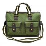 Louis Vuitton Sac 48h Mary Kate Green Khaki Monogram Mini Canvas Shoulder Bag