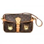 Louis Vuitton Hudson Monogram Canvas Shoulder Bag