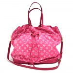 Louis Vuitton Noefull MM Rose Indian Denim Monogram 2Way Bag - 2013 Limited Ed