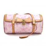 Louis Vuitton Cherry Blossom Papillon Pink Monogram Canvas Murakami Handbag