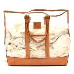 Vinatge Louis Vuitton Isaac Mizrahi Clear Vinyl x Leather Tote bag-Rare