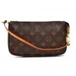 Louis Vuitton Pochette Accessoire Monogram Canvas Handbag