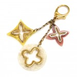 Louis Vuitton Insolence Pastel Gold-Tone Key Chain / Bag Charm