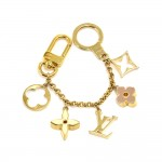 Louis Vuitton Fleur de Monogram Bag Charm Chain / Key Holder