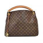 Louis Vuitton Artsy MM Monogram Canvas Tote Handbag