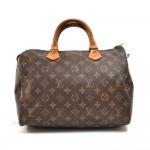 Vintage Louis Vuitton Speedy 30 Monogram Canvas City Handbag- Early 1980s