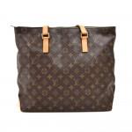 Louis Vuitton Cabas Mezzo Monogram Canvas Shoulder Tote Bag