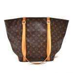 Vintage Louis Vuitton Sac Shopping Monogram Canvas Tote Bag