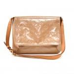 Louis Vuitton Thompson Street Noisette Beige Vernis Leather Shoulder Bag