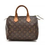 Vintage Louis Vuitton Speedy 25 Monogram Canvas City Handbag
