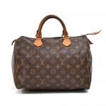 Louis Vuitton Speedy 30 Monogram Canvas City Handbag