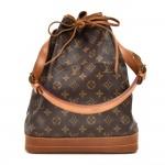 Vintage Louis Vuitton Noe Large Monogram Canvas Shoulder Bag 1980s