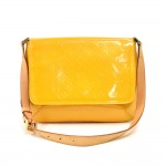 Louis Vuitton Thompson Street Yellow Vernis Leather Shoulder Bag