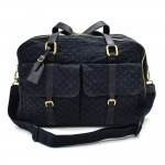 Louis Vuitton Claudine Navy Monogram Travel Bag