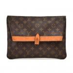 Vintage Louis Vuitton Pochette Pliante Monogram Canvas Clutch Bag