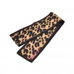 Louis Vuitton Leopard Print Bandeau Silk Scarf