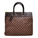 Louis Vuitton Greenwich PM Ebene Damier Canvas Large Handbag