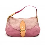 Louis Vuitton Sunray Rouge Monogram Denim Shoulder Bag - 2010 Limited Ed