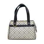 Louis Vuitton Josephine PM Blue Mini Monogram Canvas Hand Bag