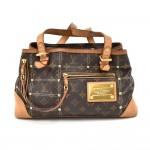 Louis Vuitton Riveting GM Monogram Canvas Handbag- 2007 Limited Edition