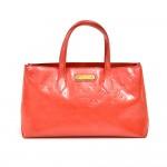 Louis Vuitton Willshire Orange Sunset Monogram Vernis Leather Handbag