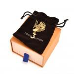 Louis Vuitton LV & Me 3 Pendant Gold Chain Necklace