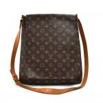 Louis Vuitton Musette Large Monogram Canvas Shoulder Bag